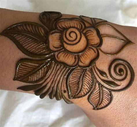 40 glamorous rose flower mehndi designs 2018 sheideas