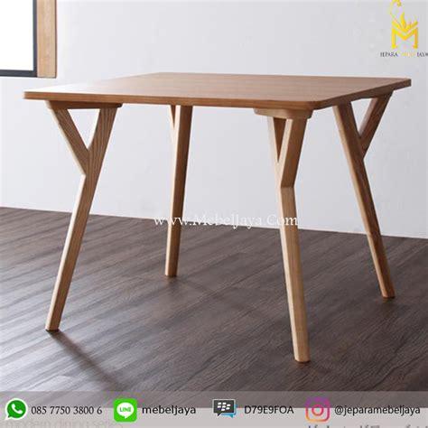 Meja Untuk Warung Makan Plastik meja makan minimalis jepara mebel jaya jepara mebel jaya