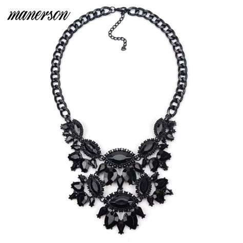 Layer Wrap Choker Black Necklace Kalung Handmade 1658 best steunk jewelry rings bracelets necklaces