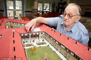 Pool House Blueprints pensioner brian cleaver spends four years building