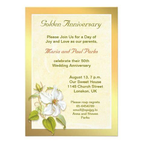 50 wedding anniversary invitations in 50th wedding anniversary invitations