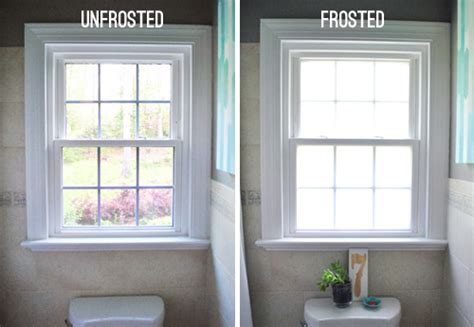 frosted glass windows for bathrooms frosted window on pinterest window film privacy window