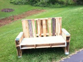 Patio Furniture You Can Sleep On Pallet Chair Tutorial So You Think You Re Crafty