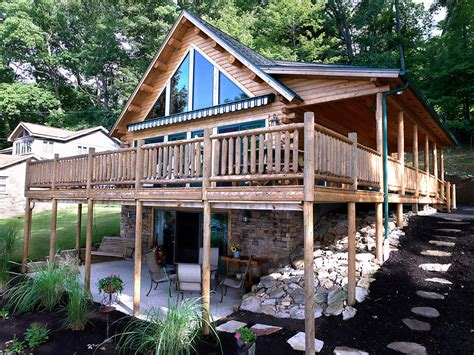 kodiak log home floor plan by katahdin cedar log homes