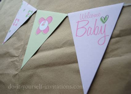 Do It Yourself Baby Shower Invitations by Free Baby Shower Invitation Templates