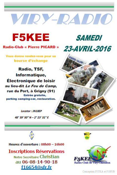 Calendrier Des Brocantes Spam S A Brocante Viry Radio 2016 Le 23 Avril Radio Club De Viry