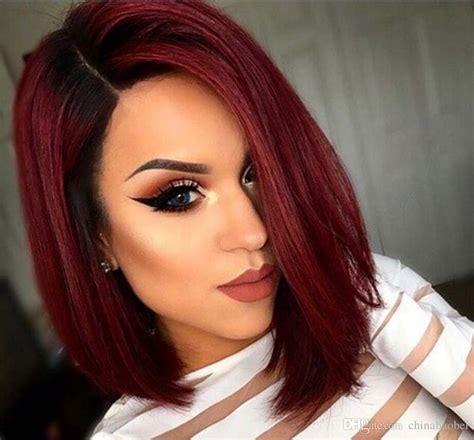 Felice Hair Colour 0 00 White compre moda ombre wine womens bob cabelo peruca de chinabaobei 14 98 pt