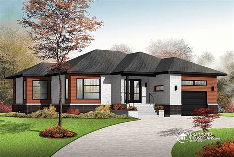house plan of the week house plan of the week quot calm and comfortable contemporary quot drummond house plans blog