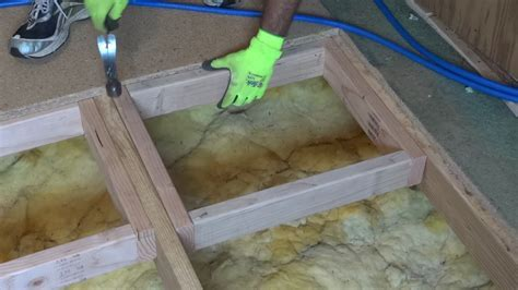 How to repair or replace a damaged section of sub floor