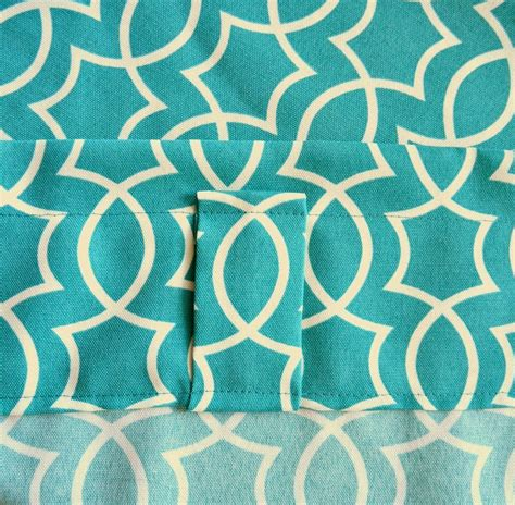 how to sew back tab curtains remodelaholic simple sewn back tab curtains