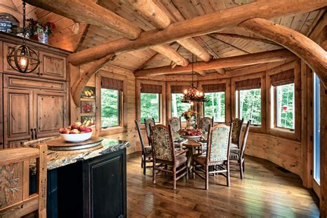 What Are The Different Styles Of Homes by A Mountain Log Home In New Hampshire