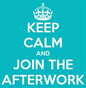 Keep calm and join the afterwork poster marthe horgmo keep calm o