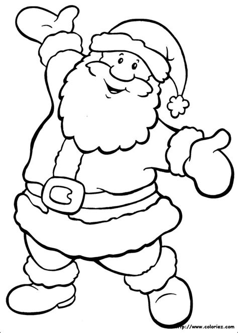 Le Coloriage Le P 232 Re No 235 L Danse De La Cat 233 Gorie No 235 L Page Easy Coloring Pages Santa