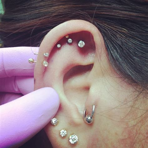 Piercing Cartilage At Home by Cartilage Piercings 40 What S New
