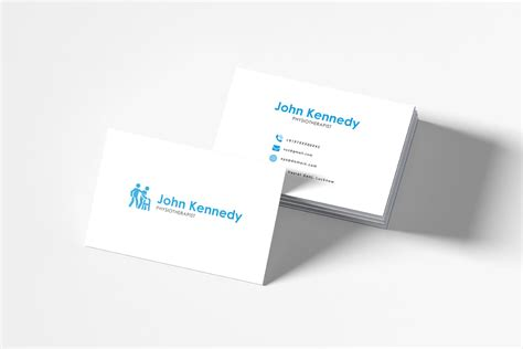 physiotherapy business cards templates free physiotherapy business card template creativetacos