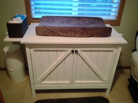 ana white  changing tabledresser   sons rustic