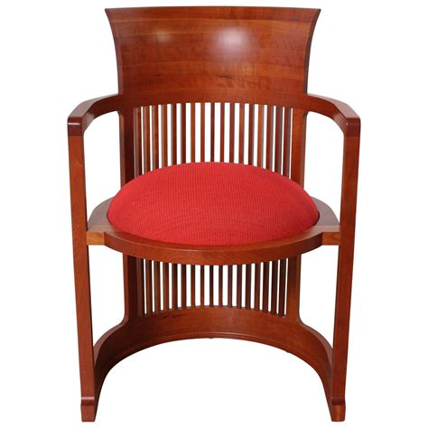 frank lloyd wright barrel chair frank lloyd wright barrel chair from cassina at 1stdibs