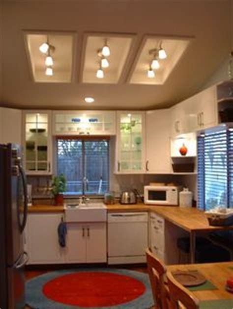 replace fluorescent light in kitchen with track lighting 1000 images about kitchen lighting on pinterest