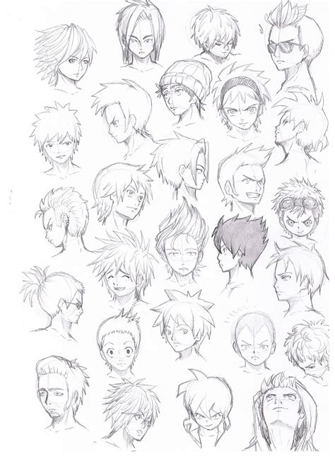 anime hairstyles pictures anime guy hairstyles google search pinteres