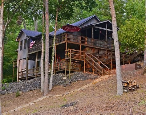 Lake Cabins In Arkansas by Beautiful Cabin On Lake Catherine In Vrbo