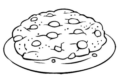 the big cookies coloring page cookie pinterest