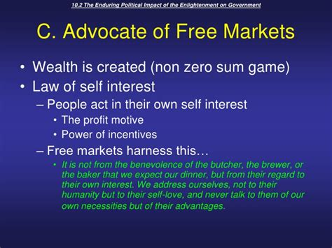 the wealth of nations harnessing the market and the environment books unit 3 topic 2 the philosophes