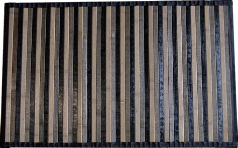 tappeto legno tappeto stuoia bamboo pedana degrad 232 antiscivolo passatoia