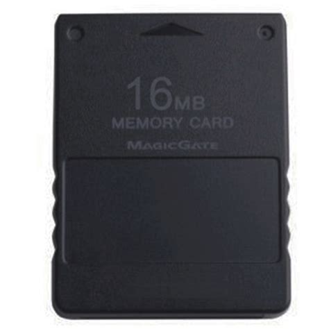 Memori Card Ps2 16mb Hitam cart 227 o de mem 243 ria 16mb para playstation 2 memory card