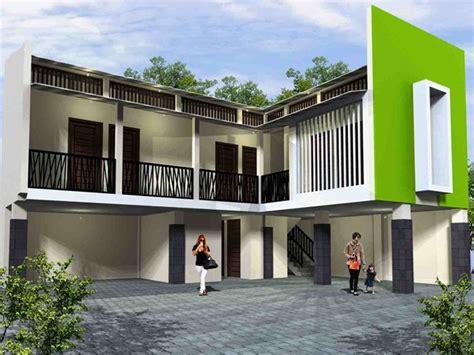 model rumah kost minimalis sederhana terbaru gambar