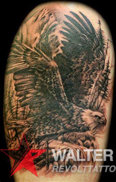 eagle tattoo hollywood eagle black wings bird black and grey