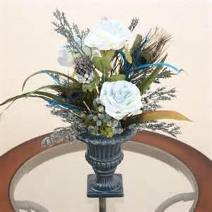Silk Flower Arrangements For Dining Room Table Handmade Silk Flower Arrangement Home Office Decor