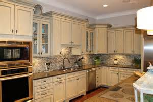 Backsplash Ideas For White Kitchens by Kitchen Backsplash Ideas White Cabinets Brown Countertop