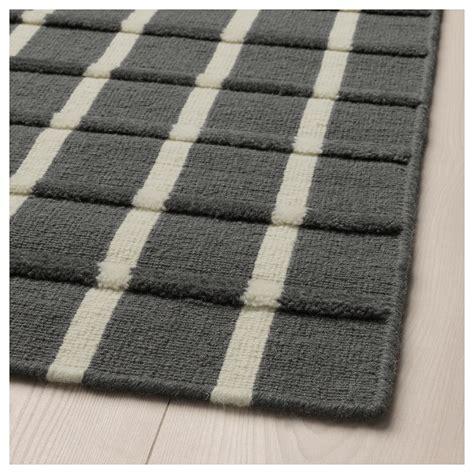grey rugs ikea foulum rug flatwoven grey white 133x195 cm ikea