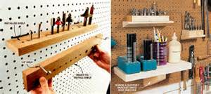 Garage Organization Wall Systems - the basics of tool organization systems part 1 pegboard