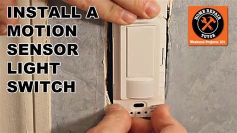 install  maestro motion sensor light switch