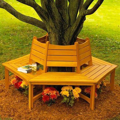 shade tree bench wood magazine