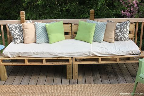 diy pallet sofa the pallet sofa amber tysl