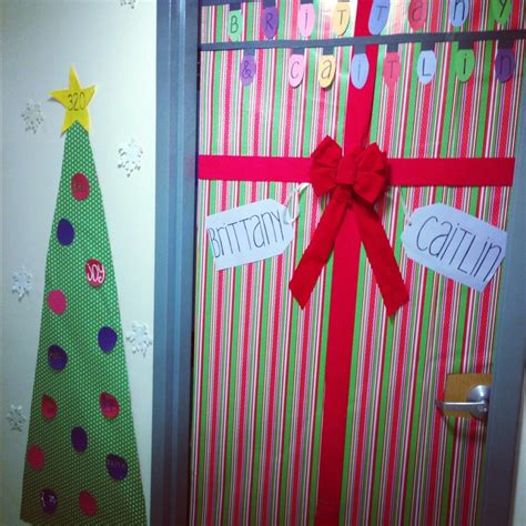 Room Door Decorations by Trees December And Trees On