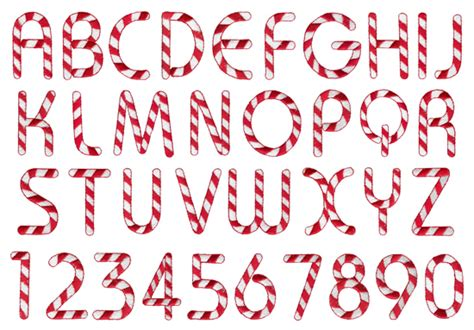 candy cane by grand slam designs pulse fonts on