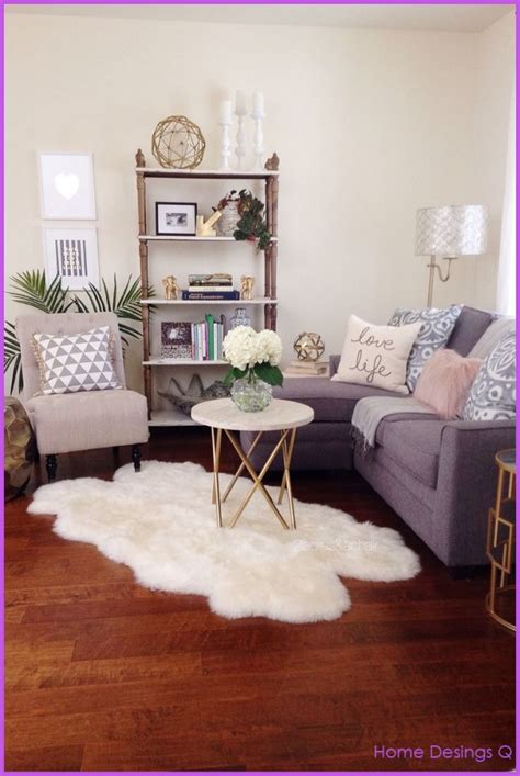 How To Decorate A Small Apartment Living Room | how to decorate a small living room apartment