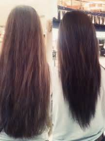 haircut shape long layered v shaped haircut