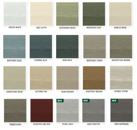 osi color hardie siding