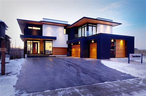 custom modern homes designer prefab homes in canada and usa