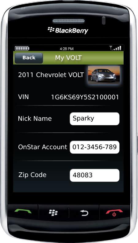 Chevrolet Volt App Chevrolet Volt Mobile Smartphone App Photo Gallery Autoblog