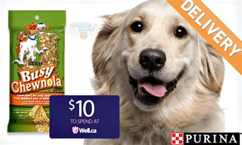 Wagjag Gift Card - wagjag canada 29 for 10 bags purina busy chewnola dog treats 10 well ca gift card