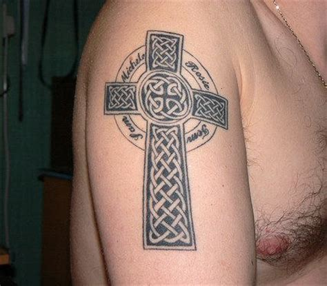 celtic cross tattoo arm christian images designs