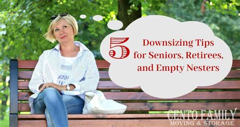 downsizing tips 5 downsizing tips for seniors retirees and empty nesters
