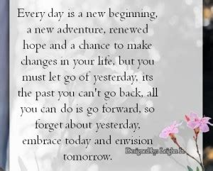 start every day with new hope starting a new adventure quotes quotesgram