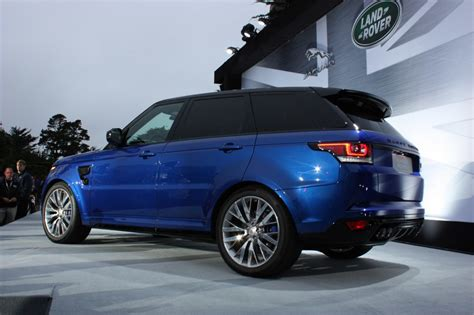 range rover svr 2016 2016 range rover sport svr luxury things