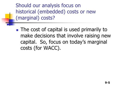 Gonzaga Mba Cost by Cost Of Capital